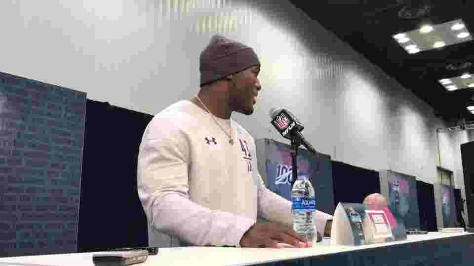 WATCH: LSU linebacker Devin White at the Combine