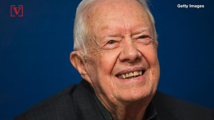 The 39th president of the United States, Jimmy Carter, will officially become the oldest former president ever. Veuer's Mercer Morrison has the story.