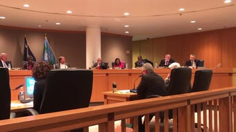 "At the March 19 council meeting, Ballard said he had ""no idea"" he would be expected to vote on the administrator's contract when they met March 13"