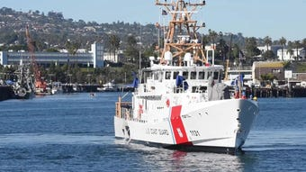 This cutter is named in honor of a Coast Guardsman who died after an encounter with drug smugglers off Santa Cruz Island in 2012.