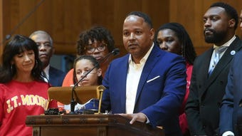 """NAACP calls out """"Jim Crow politics"""" in rally in support of Shawn Joseph"""