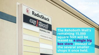 Rehoboth Beach and Ocean City are on par with a nationwide trend of malls shutting down.