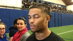 UD's Nasir Adderley on Pro Day, possibly playing for Eagles