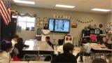 Thelma Barker teacher tells her students she won a $10,000 scholarship