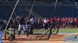 Yankees star Aaron Judge takes batting practice on Friday, March 22, 2019