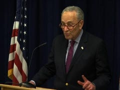 "Senate Minority leader, Senator Chuck Schumer says it's ""imperative"" to make the full report from Special Counsel Robert Mueller public. The top Senate Democrat says ""the American people have a right to the truth."" (March 22)"