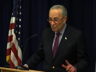"""Senate Minority leader, Senator Chuck Schumer says it's """"imperative"""" to make the full report from Special Counsel Robert Mueller public. The top Senate Democrat says """"the American people have a right to the truth."""" (March 22)"""