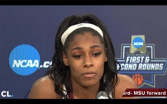 Mississippi State Lady Bulldogs advance past first round of NCAA Tournament defeating Southern 103-46. The Bulldogs will now take on Clemson Sunday night.