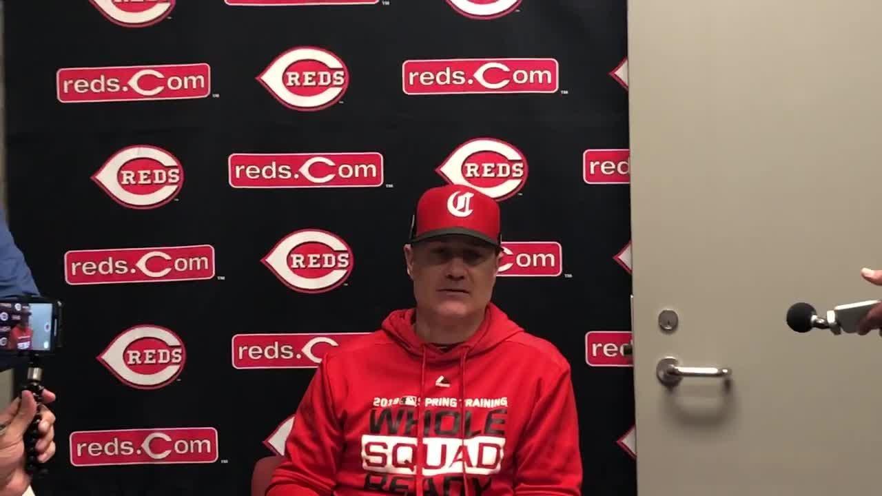 Cincinnati Reds manager David Bell details Scooter Gennett injury