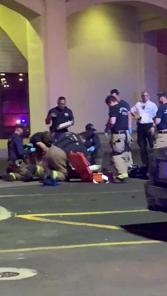 Video: Authorities respond to man at Mesilla Valley Mall on Saturday, March 23, 2019.