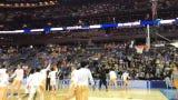 NCAA Tournament: Vols pregame dunk before round 2