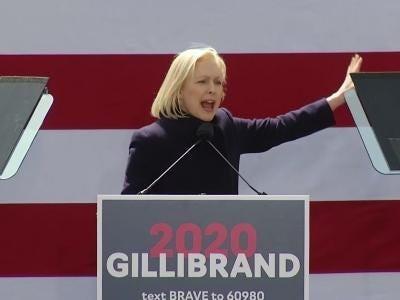 Kirsten Gillibrand kicks off presidential run