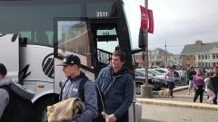 College wrestling: Rutgers' two national champions arrive home