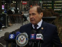 "House Judiciary Committee chairman Congressman Jerrold Nadler insisted Sunday night that President Donald Trump ""is wrong,"" to claim the Mueller report offered him ""total exoneration."" (March 24)"