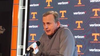 Tennessee coach Rick Barnes won USBWA coach of the year Monday.