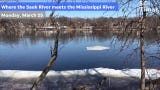 The National Weather Service has issued a flood warning for the Mississippi River at St. Cloud starting Wednesday.