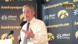 """""""Until you see players live ... it's not quite the same."""" Ferentz likes what he has seen with Nixon so far."""