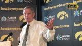 Iowa coach Kirk Ferentz discusses the development of starting tackles Alaric Jackson and Tristan Wirfs, plus quarterback Nate Stanley.