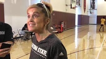 ASU WBB coach Charli Turner Thorne on Sweet 16, seeking championship offense, bench depth