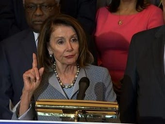 Speaker of the House Nancy Pelosi, along with fellow House Democrats, unveiled their plans to make health care more affordable for Americans.