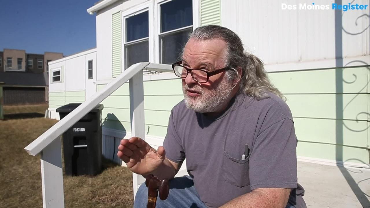 'Unacceptable': Rep. Cindy Axne, Sen. Sherrod Brown seeks answers from company raising rent 69% at Waukee mobile home park