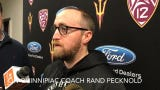 ASU hockey coach Greg Powers on NCAA Tournament opponent Quinnipiac