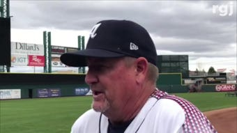 The Reno Aces begin the 2019 season on April 4 and at home on April 9. Manager Chris Cron, and his son Kevin, talk about the upcoming season
