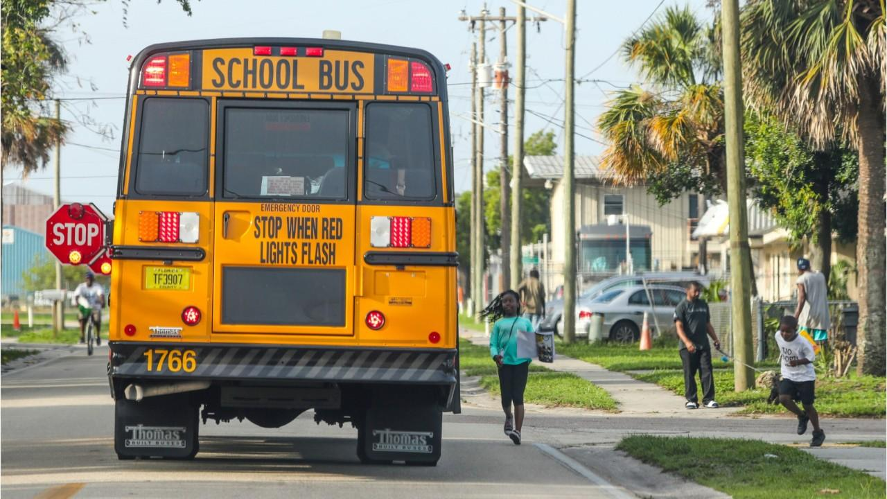 Tips for staying safe at the school bus stop