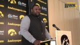 Iowa defensive line coach Kelvin Bell was recently elevated to replace retired Reese Morgan.