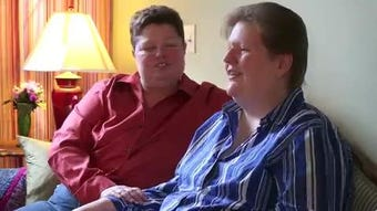 Trisha and Kate Varnum of Cedar Rapids talk about their involvement in a landmark case that made Iowa one of the first states to recognize gay marriage.