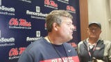 Ole Miss coach Matt Luke talked about progress, injuries and how the Rebels have prepared for the upcoming 2019 Grove Bowl this spring.