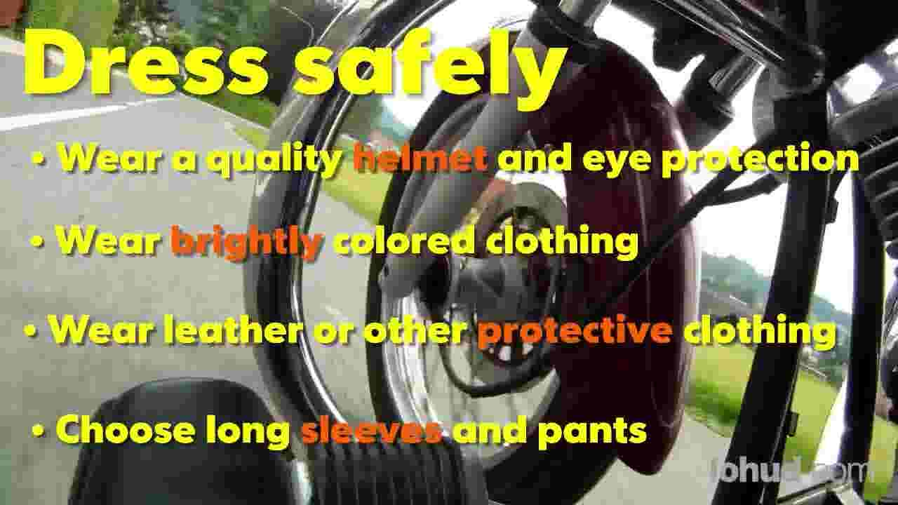 Video: Motorcycle Safety Tips