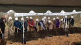 Kingwood Center Gardens held a groundbreaking ceremony for a new visitors center Thursday. The project will be done in May 2020.
