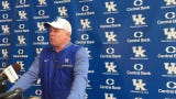 Mark Stoops updates his team's progress through 10 spring practices.