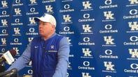Mark Stoops sees progress in Kentucky spring football practice