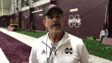 Mississippi State special teams coach Joey Jones gives spring football update
