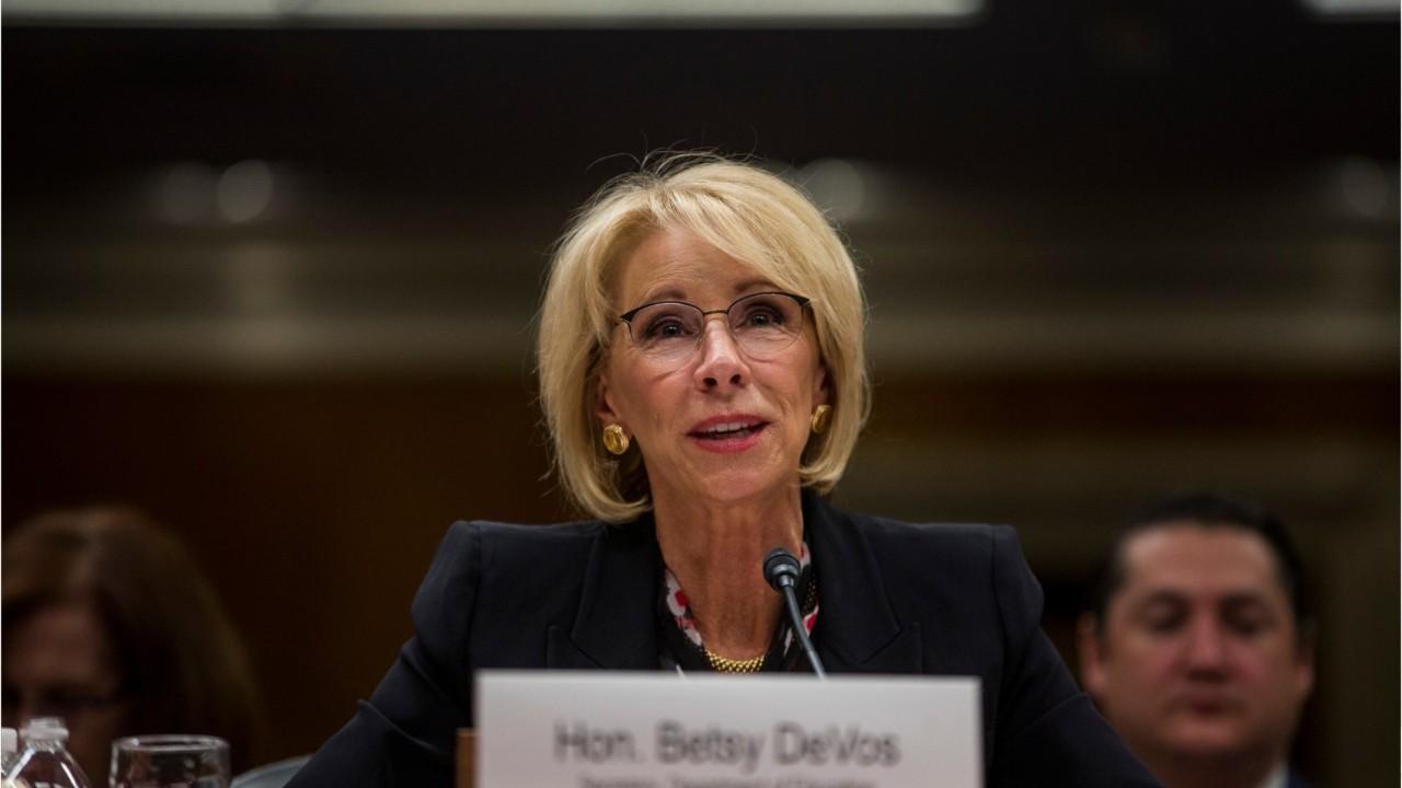 Advocates Demand Devos Protect Students >> Betsy Devos To Go Before Congress Again