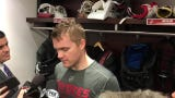 Coyotes goaltender Calvin Pickard discusses getting the nod in season finale