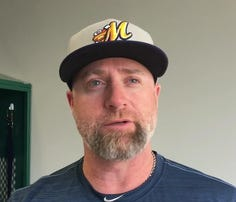First-year Biscuits manager Morgan Ensberg talks about coming to Montgomery and his goals for this year's team.