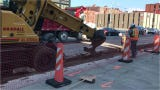Construction begins on  State Street Gateway Project.