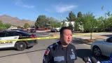 El Paso police spokesman Adrian Cisneros on the fatal shooting in Northeast El Paso on the morning of April 9, 2019.