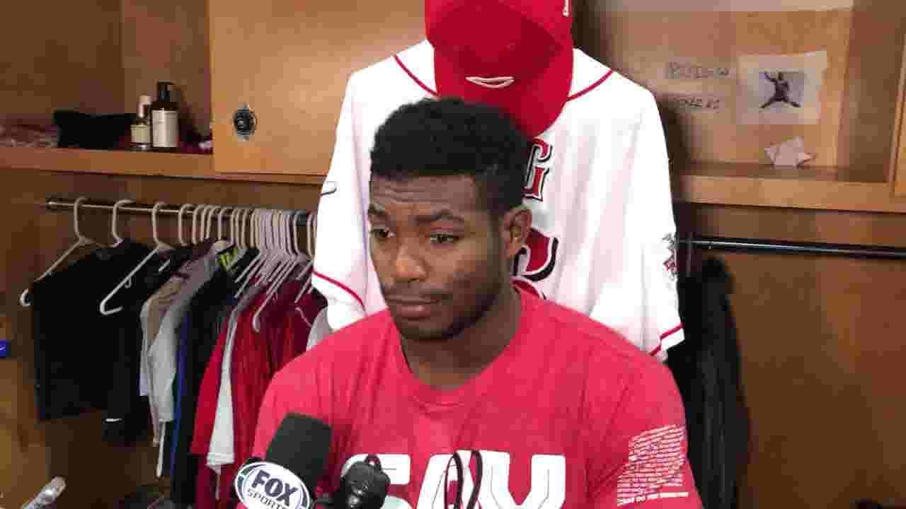 separation shoes 2d37a 692c3 Cincinnati Reds OF Yasiel Puig talks MLB 2-game suspension