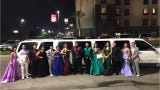 When a group of Texas students were headed to prom and their limo broke down, a retired military couple helped them get to the dance.