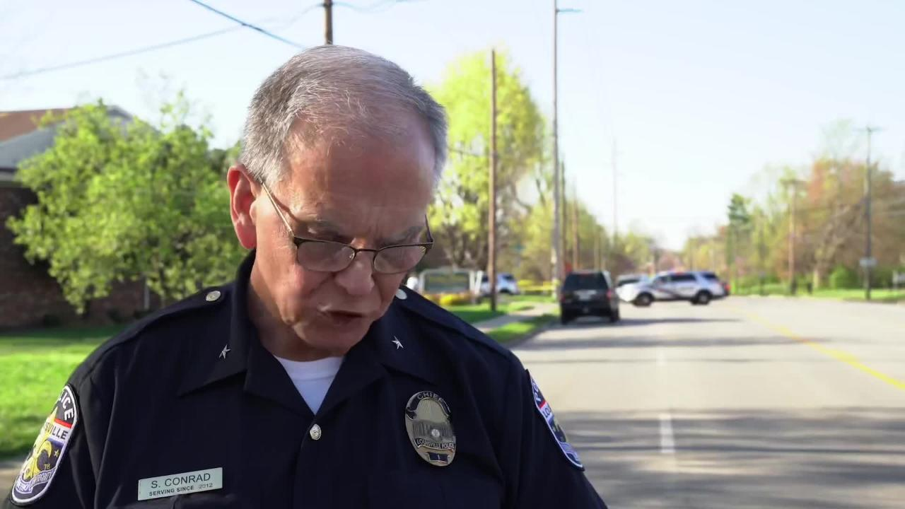 Louisville police chief gives update on Okolona shootings