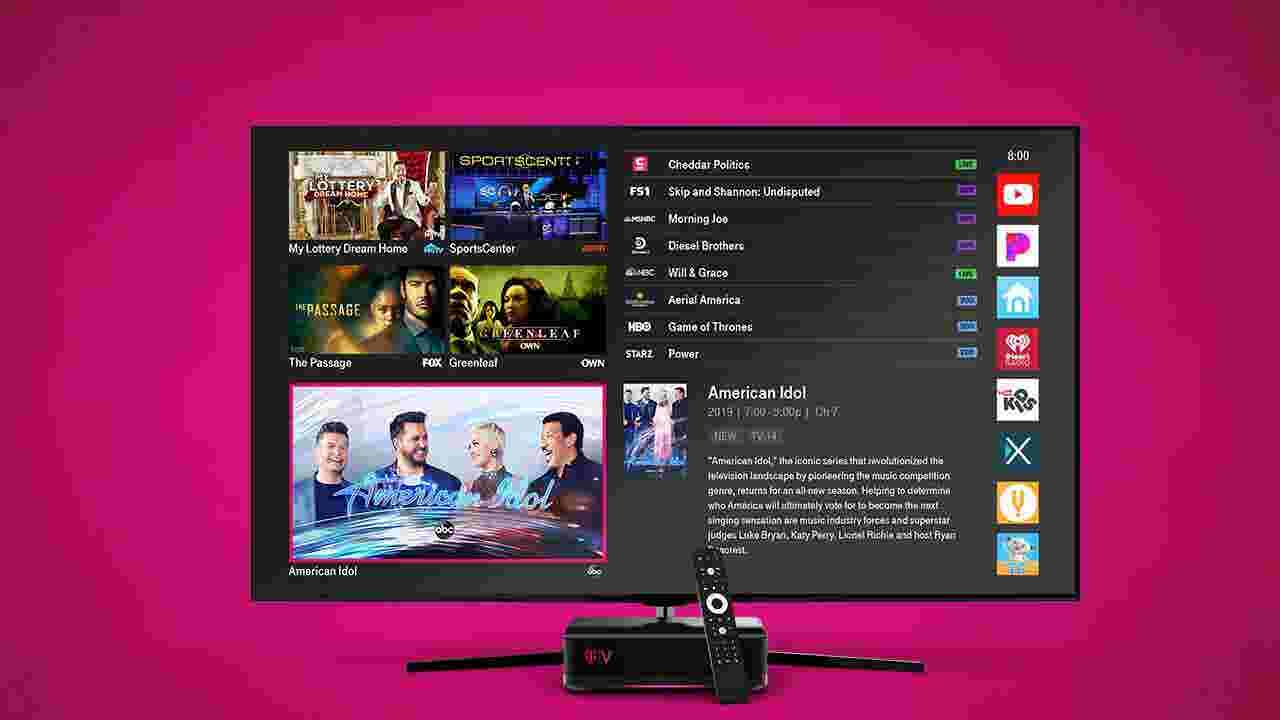 T-Mobile's TVision Home is here, but it looks a lot like regular cable