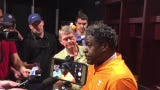 Tennessee Vols defensive line coach Tracy Rocker discusses his unit.