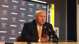 Tennessee athletic director Phillip Fulmer talks about hiring Kellie Harper
