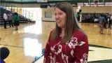 Andrea Gordon was named the 2019 High School Teacher of the Year
