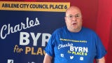 Charles Byrn says that walking blocks and meeting potential voters is what sets him apart in a five-person field for May 4 election.