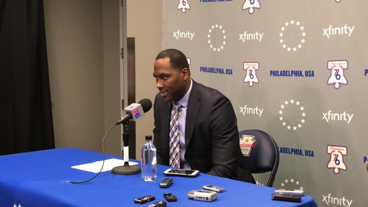 Sixers GM Elton Brand on playoff expectations